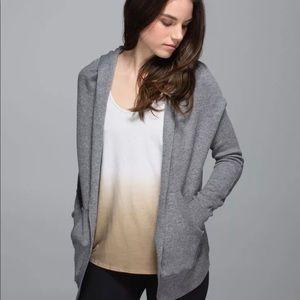 Lululemon Wrap Sweater Reversible